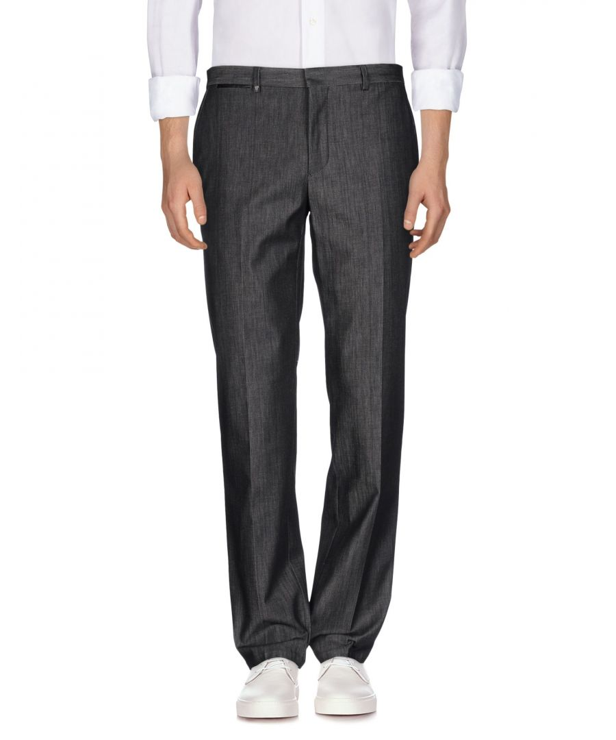 Image for Versace Collection Steel Grey Cotton Jeans