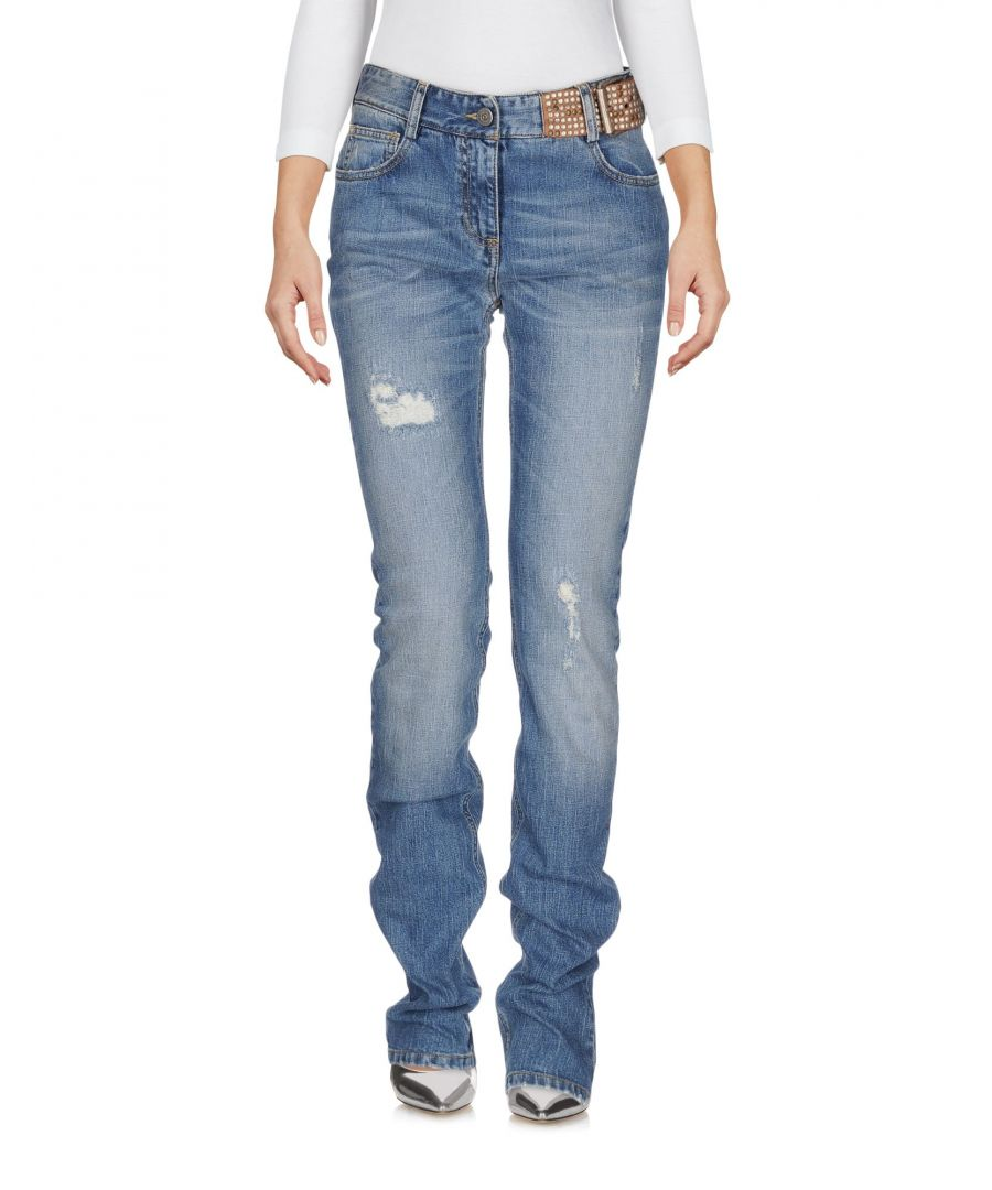Image for DENIM Scervino Street Blue Woman Cotton