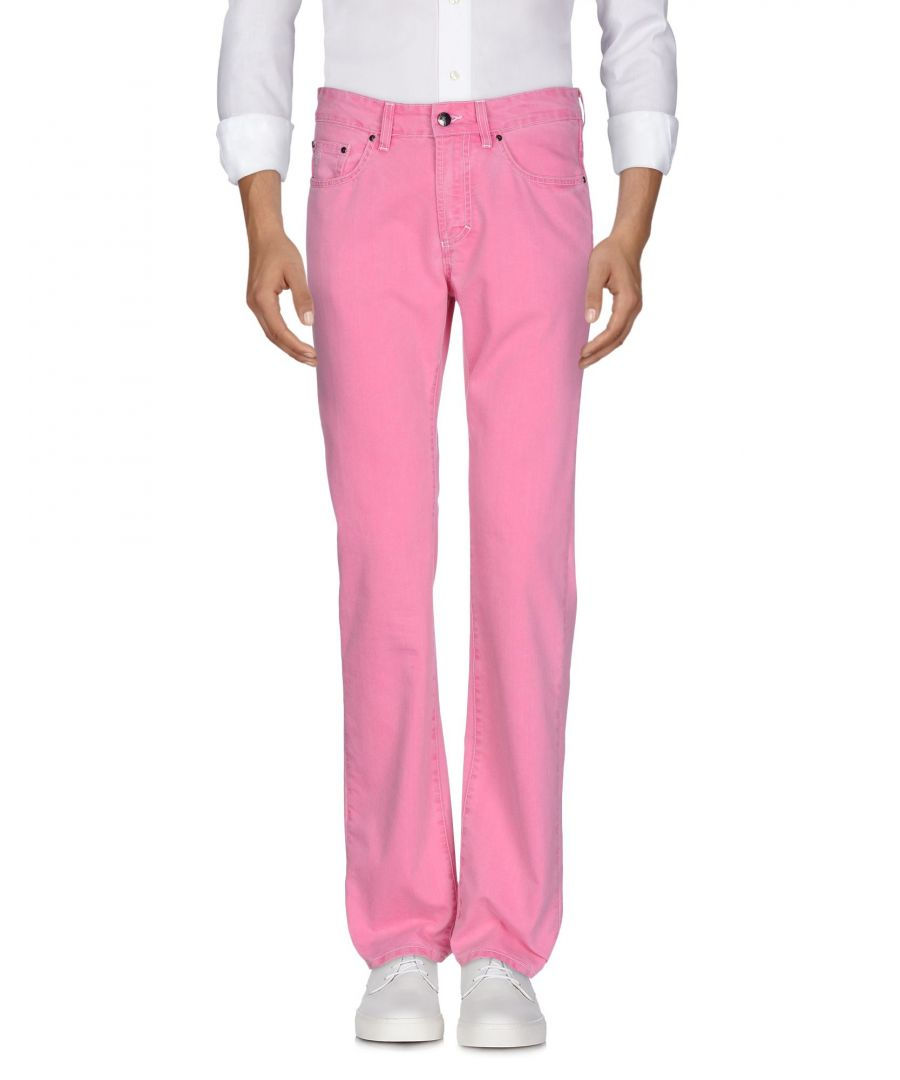 Image for Versace Collection Fuchsia Cotton Jeans