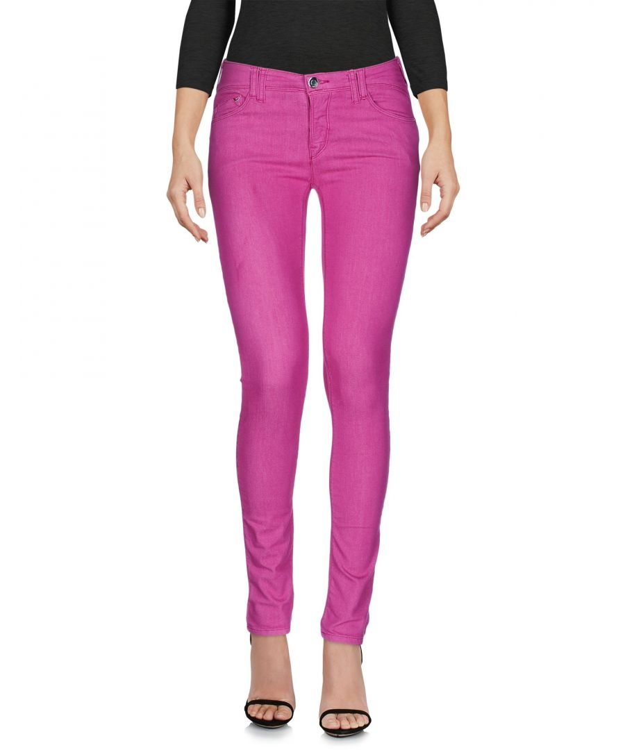 Image for Armani Jeans Fuchsia Cotton Jeans