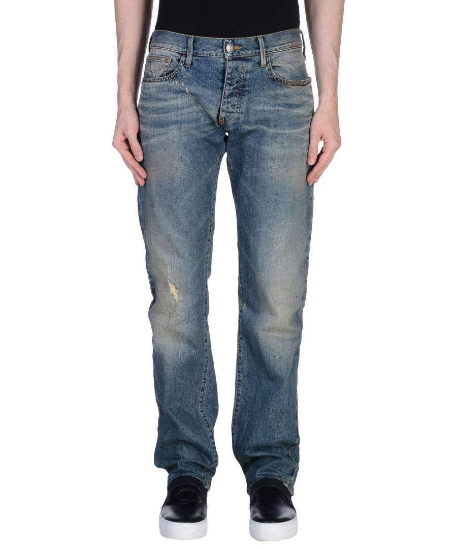 Image for Armani Jeans Blue Cotton Jeans