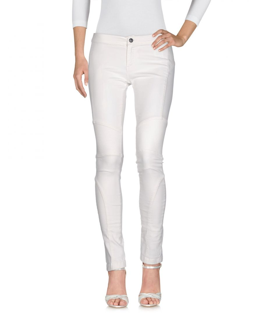 Image for Twin-Set Jeans White Cotton Skinny Jeans