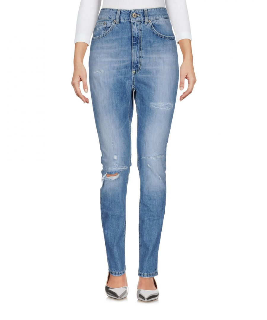 Image for Dondup Blue Cotton Skinny Jeans