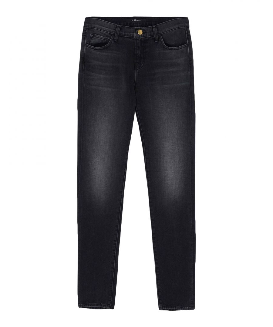 Image for J Brand Steel Grey Cotton Jeans