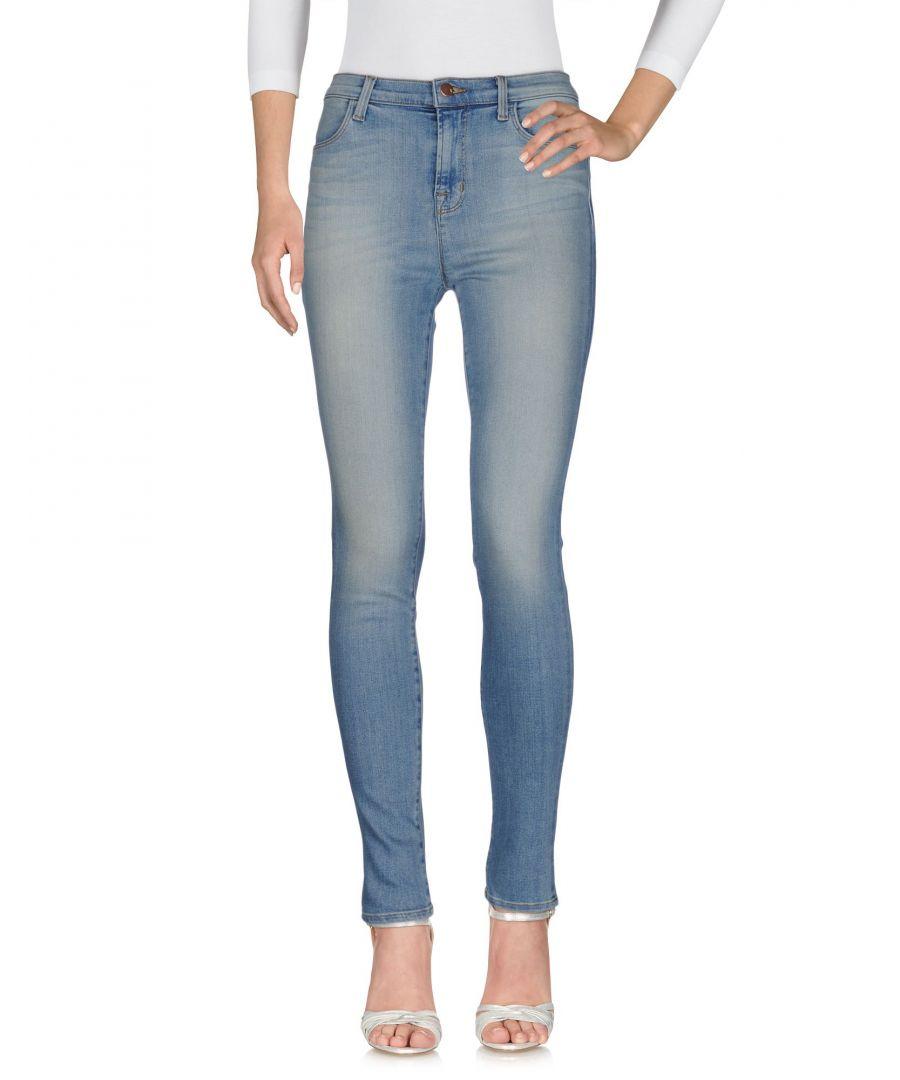 Image for J Brand Blue Skinny Jeans