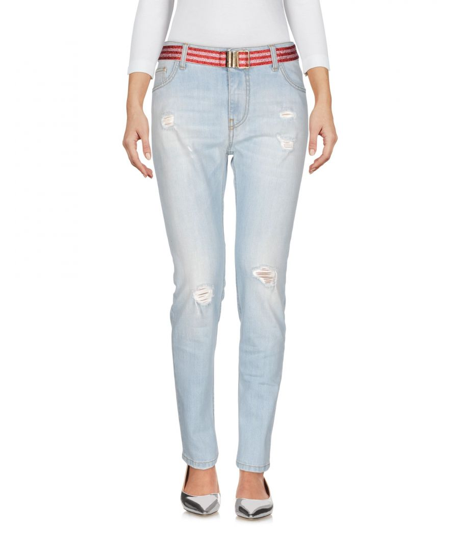 Image for Atos Lombardini Blue Cotton Light Wash Jeans