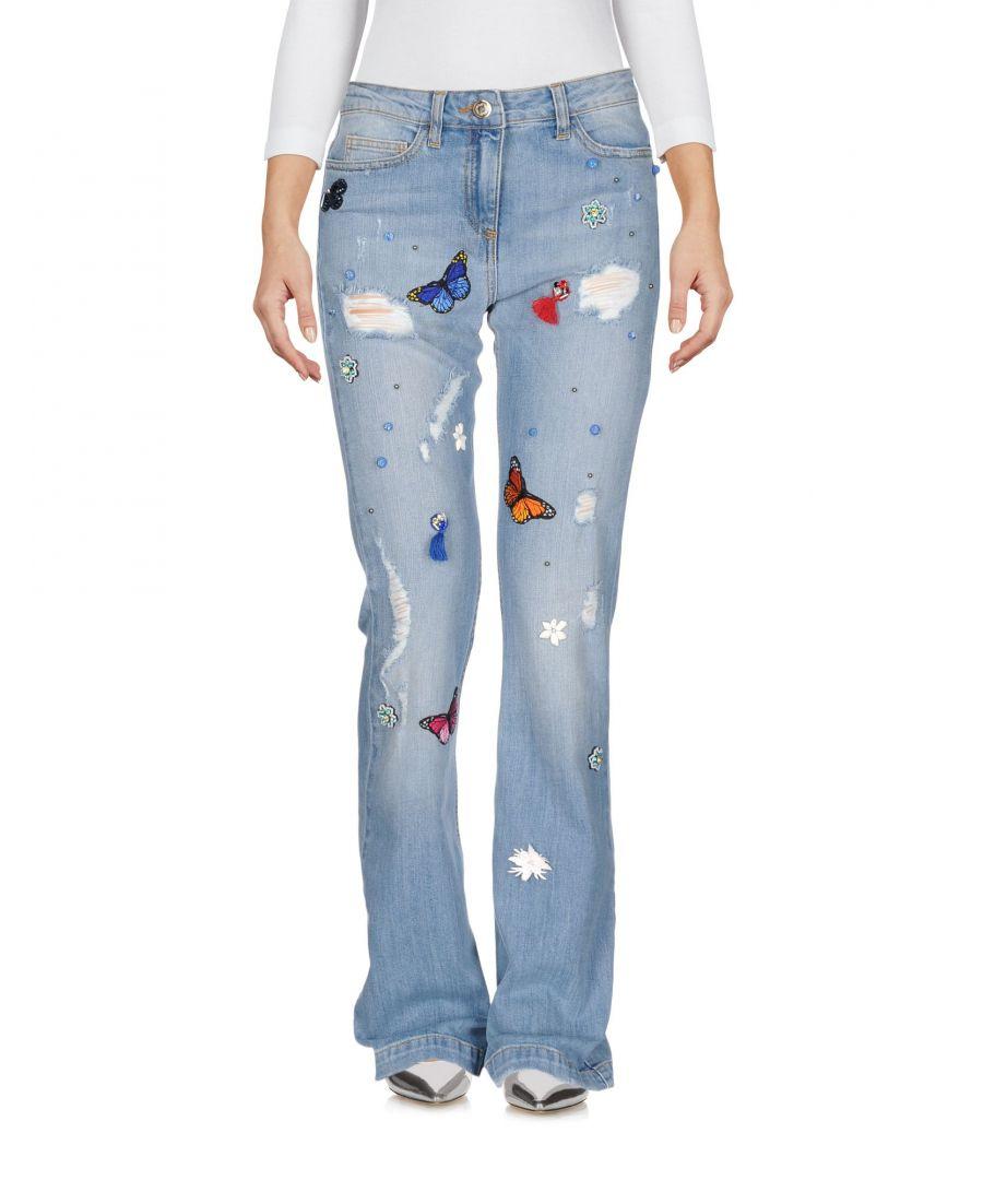 Image for Annarita N Twenty 4H Blue Cotton Bootcut Jeans