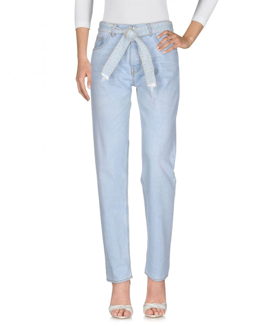 Image for Haikure Blue Cotton Jeans