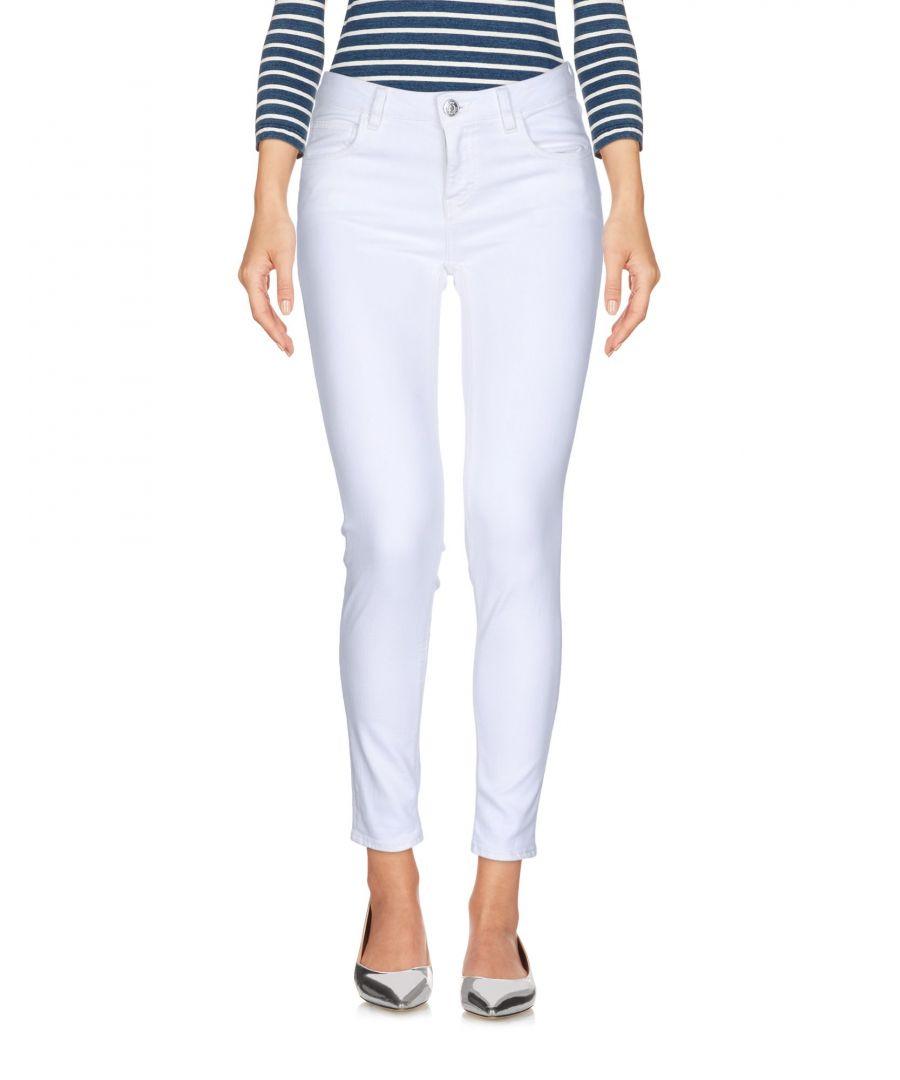 Image for Haikure White Cotton Skinny Jeans