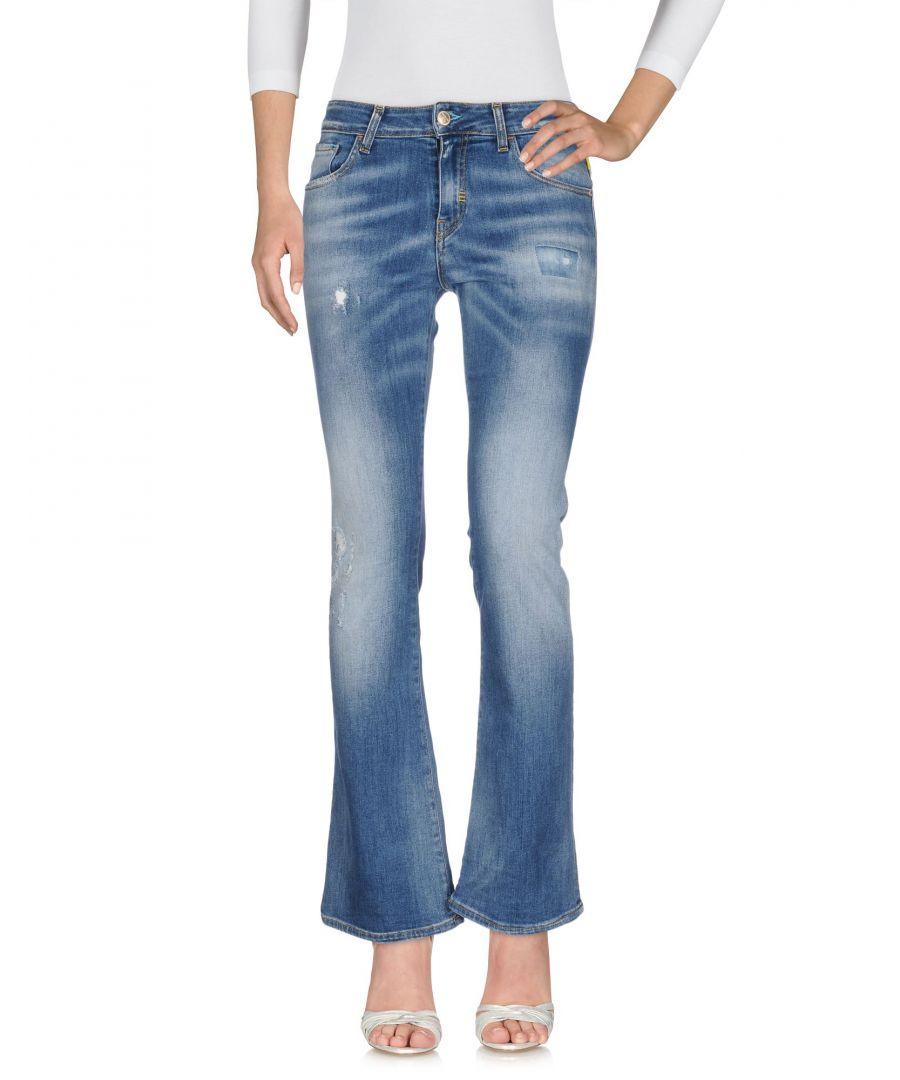 Image for Meltin Pot Blue Cotton Bootcut Jeans