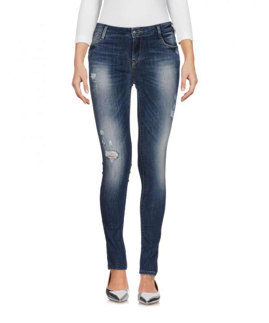 Image for Met Jeans Blue Cotton Slim Fit Skinny Jeans
