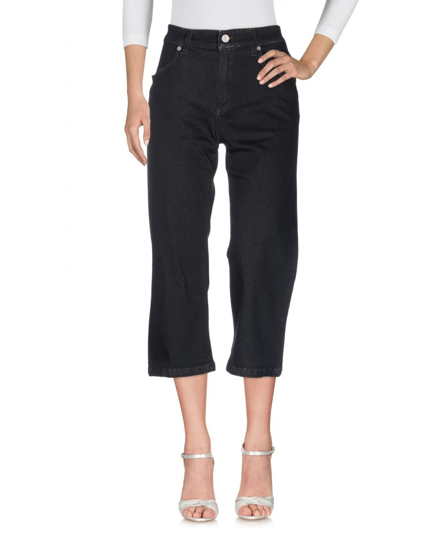 Image for Siviglia Blue Cotton Cropped Jeans