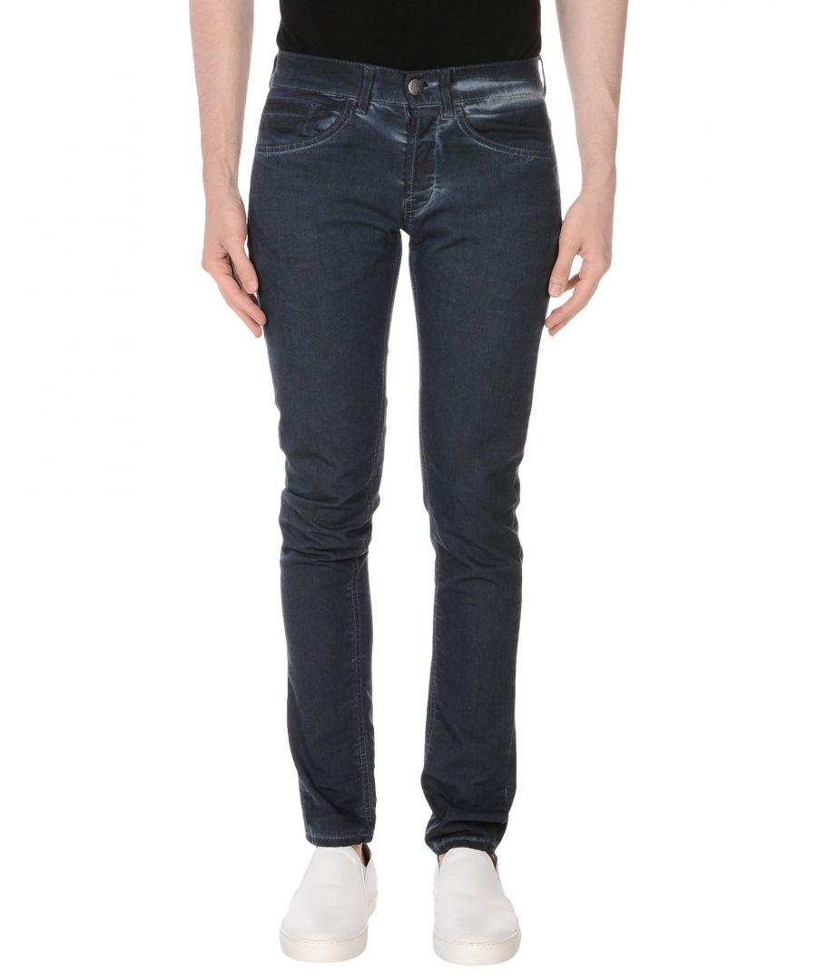 Image for Dondup Dark Blue Cotton Jeans
