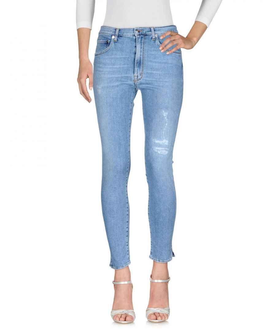Image for (+) People Blue Cotton Skinny Jeans