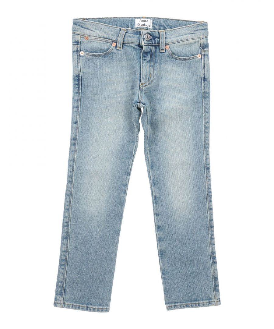 Image for DENIM Acne Studios Blue Boy Cotton