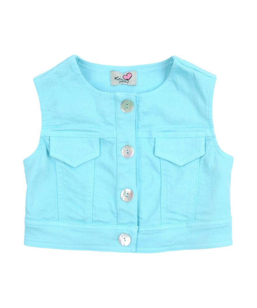 Image for DENIM Ki6? Pretty Turquoise Girl Cotton