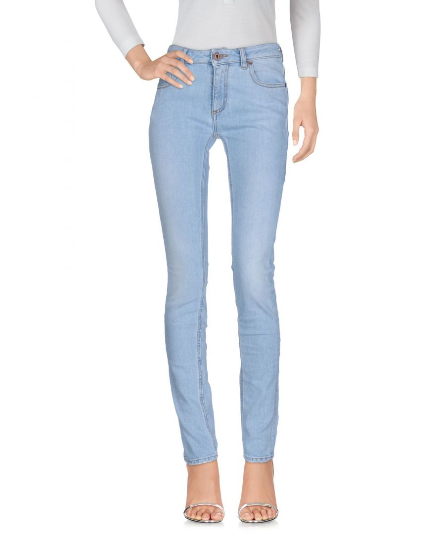 Image for DENIM Off-White™ Blue Woman Cotton