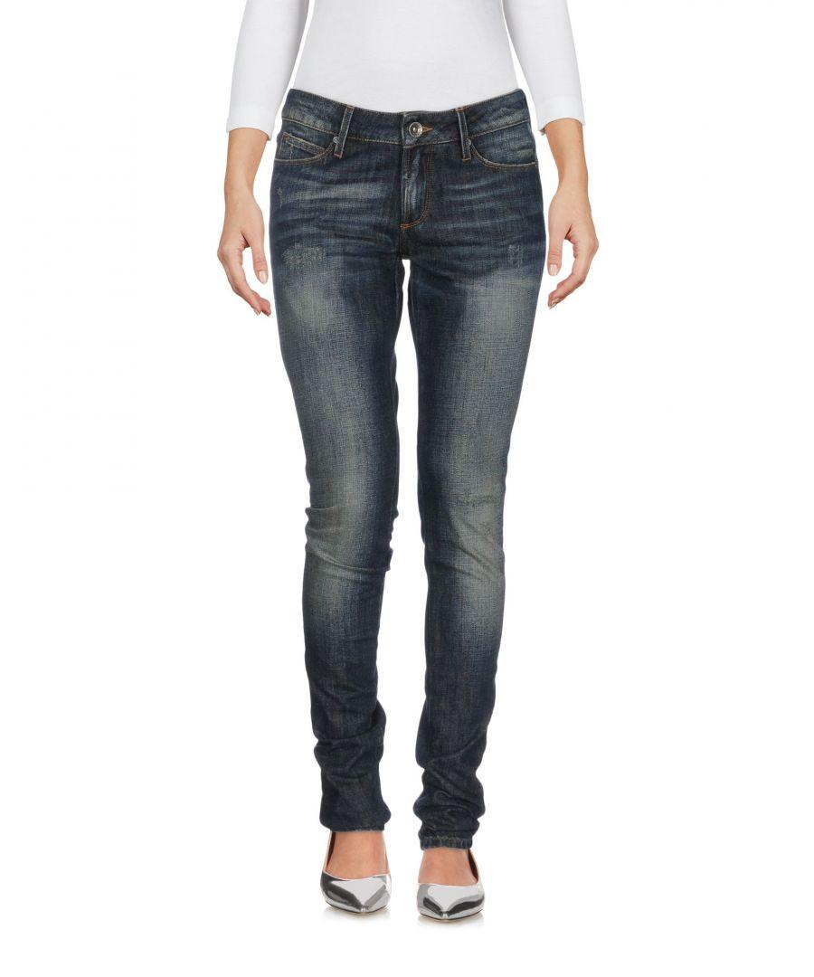 Image for Tommy Hilfiger Blue Cotton Skinny Jeans