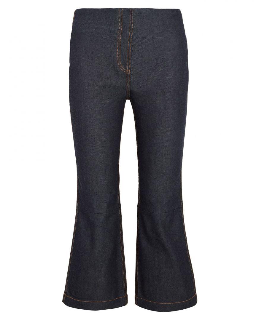 Image for McQ Alexander McQueen Blue Cotton Straight Leg Jeans