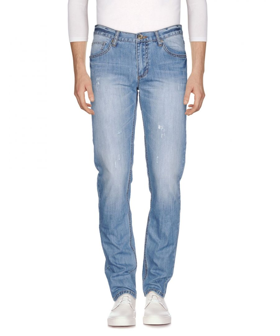 Image for Versace Jeans Blue Cotton Jeans