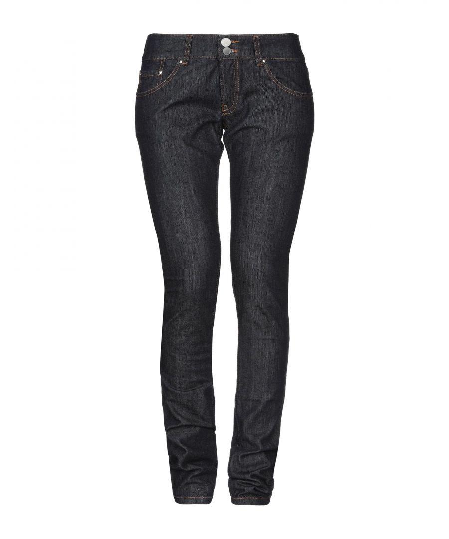 Image for Twin-Set Jeans Blue Cotton Slim Fit Jeans