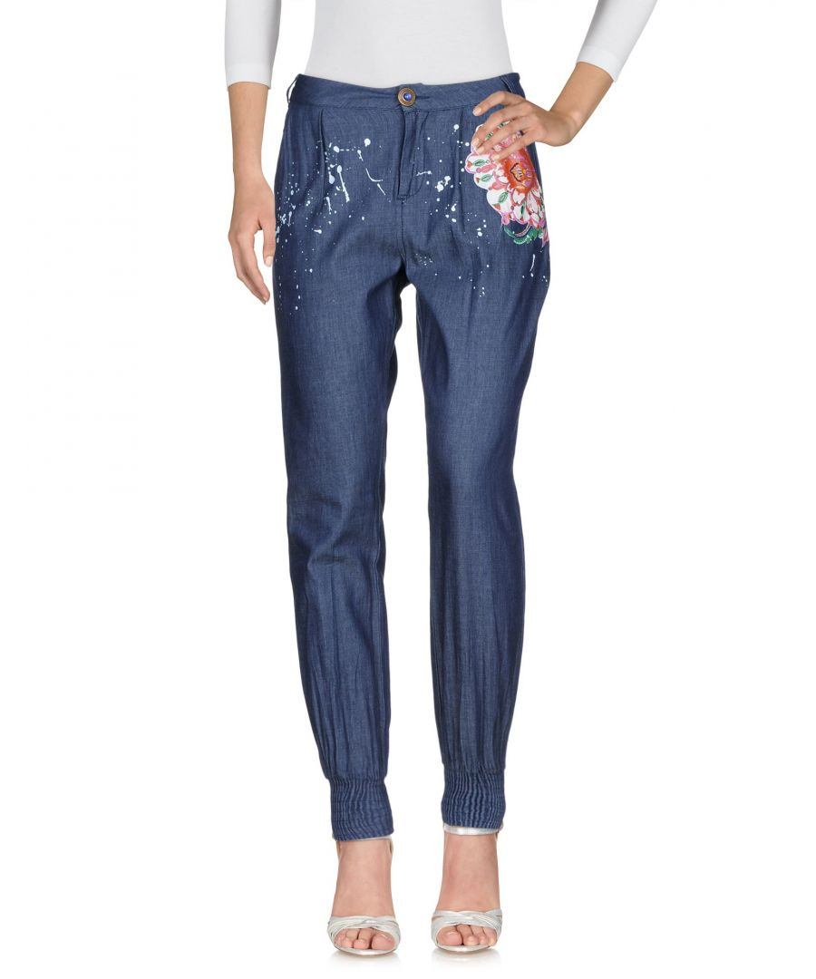 Image for DENIM Desigual Blue Woman Cotton