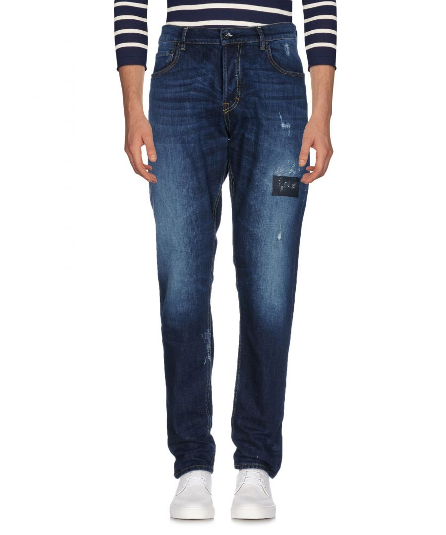 Image for The.Nim Blue Cotton Pantaloni jeans