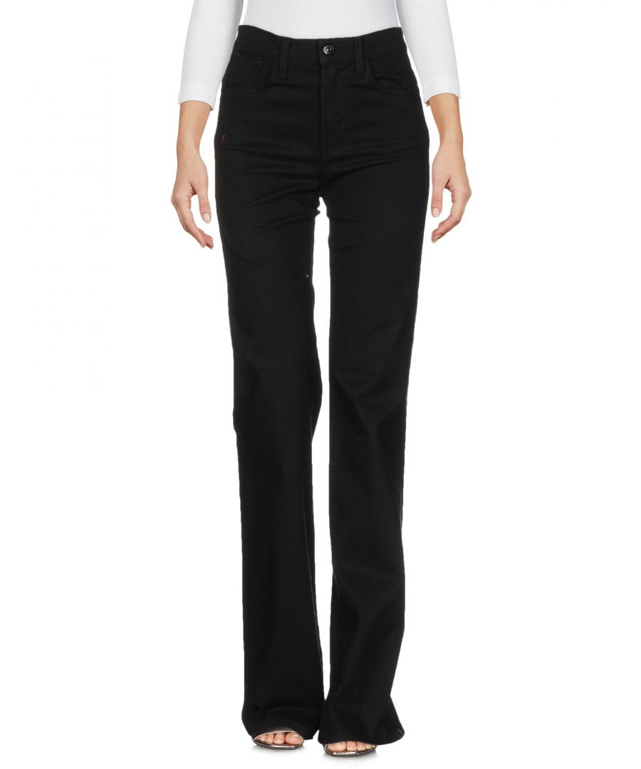 Image for Polo Ralph Lauren Black Cotton Flare Jeans