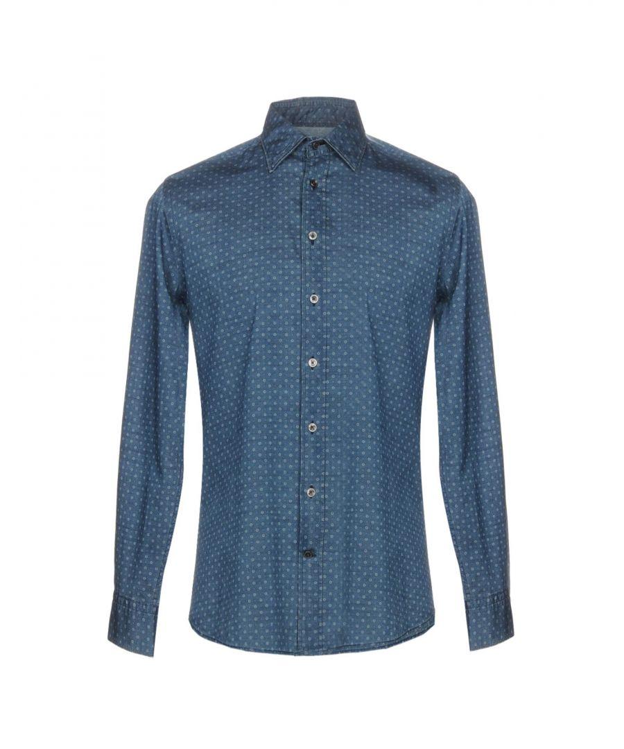 Image for Hackett London Blue Denim Shirt