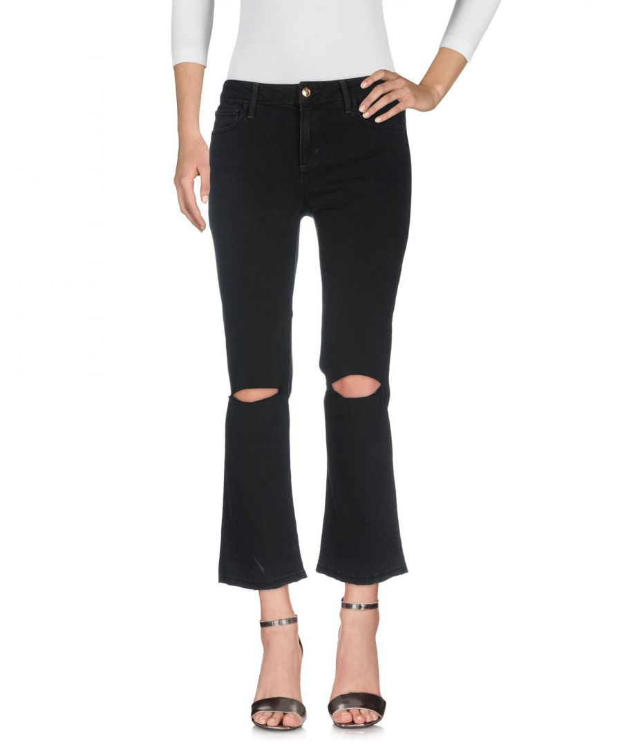 Image for Joe's Jeans Black Flare Jeans