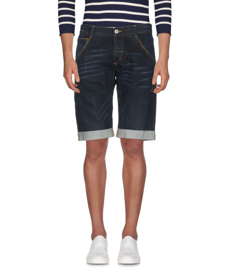 Image for Gf Ferre' Blue Denim Shorts