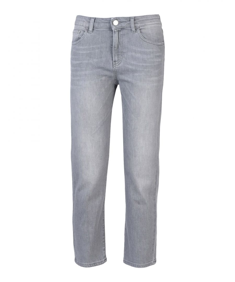 Image for Armani Jeans Grey Cotton Jeans