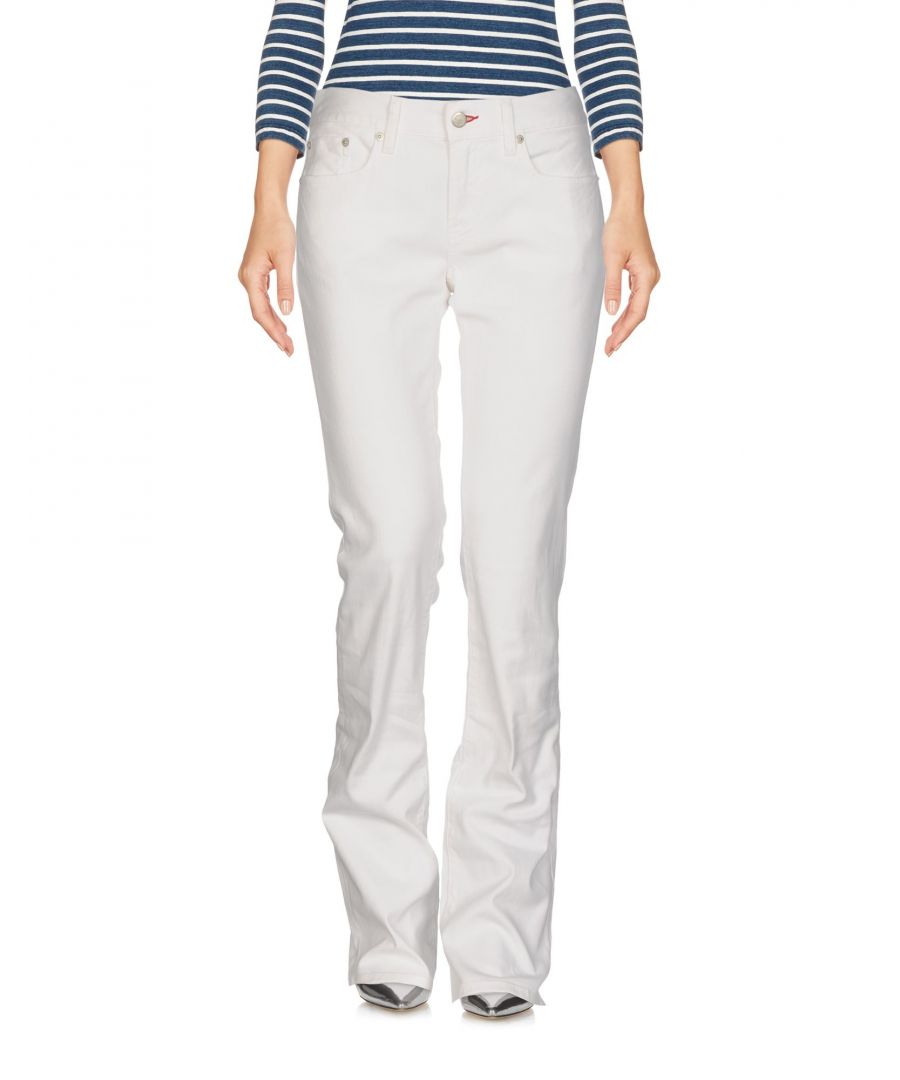 Image for Polo Ralph Lauren White Cotton Bootcut Jeans