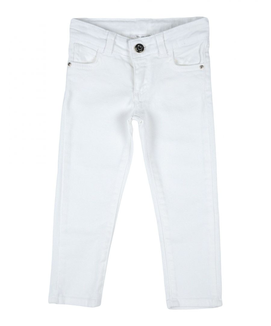 Image for Twinset White Girl Cotton Trousers