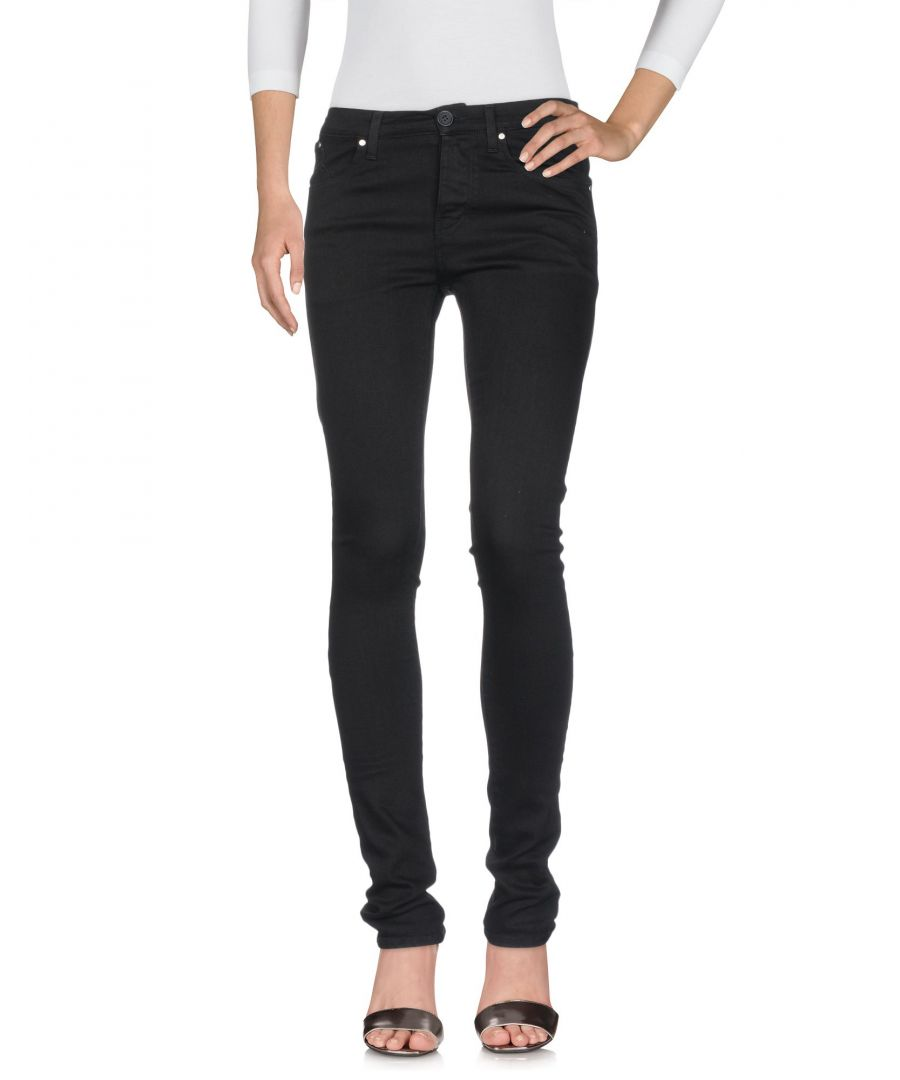Image for Karl Lagerfeld Black Cotton Jeans