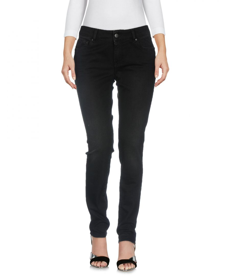 Image for Gas Black Cotton Skinny Jeans
