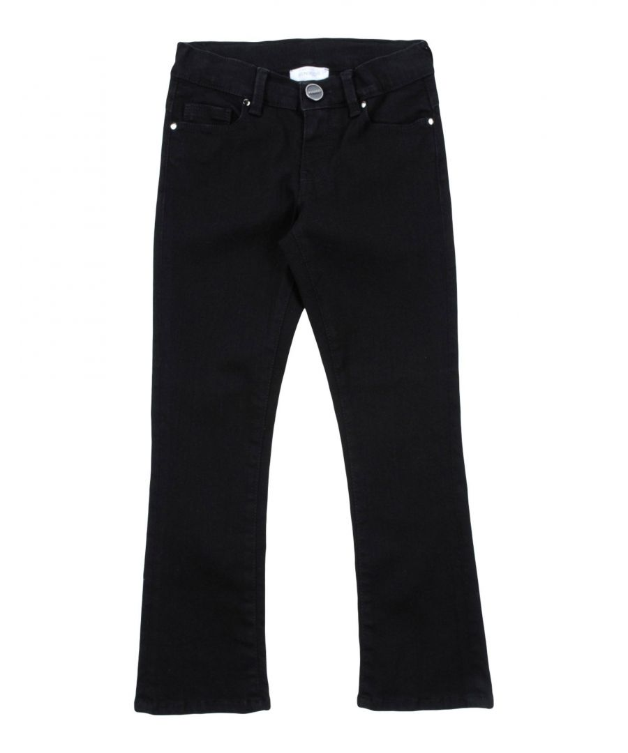 Image for DENIM Girl Pinko Up Black Cotton