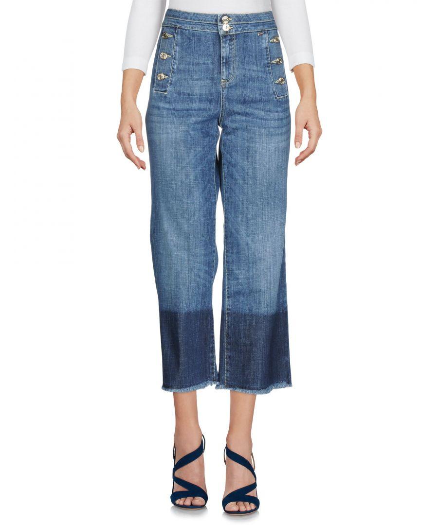 Image for Nenette Woman Denim trousers Blue Cotton
