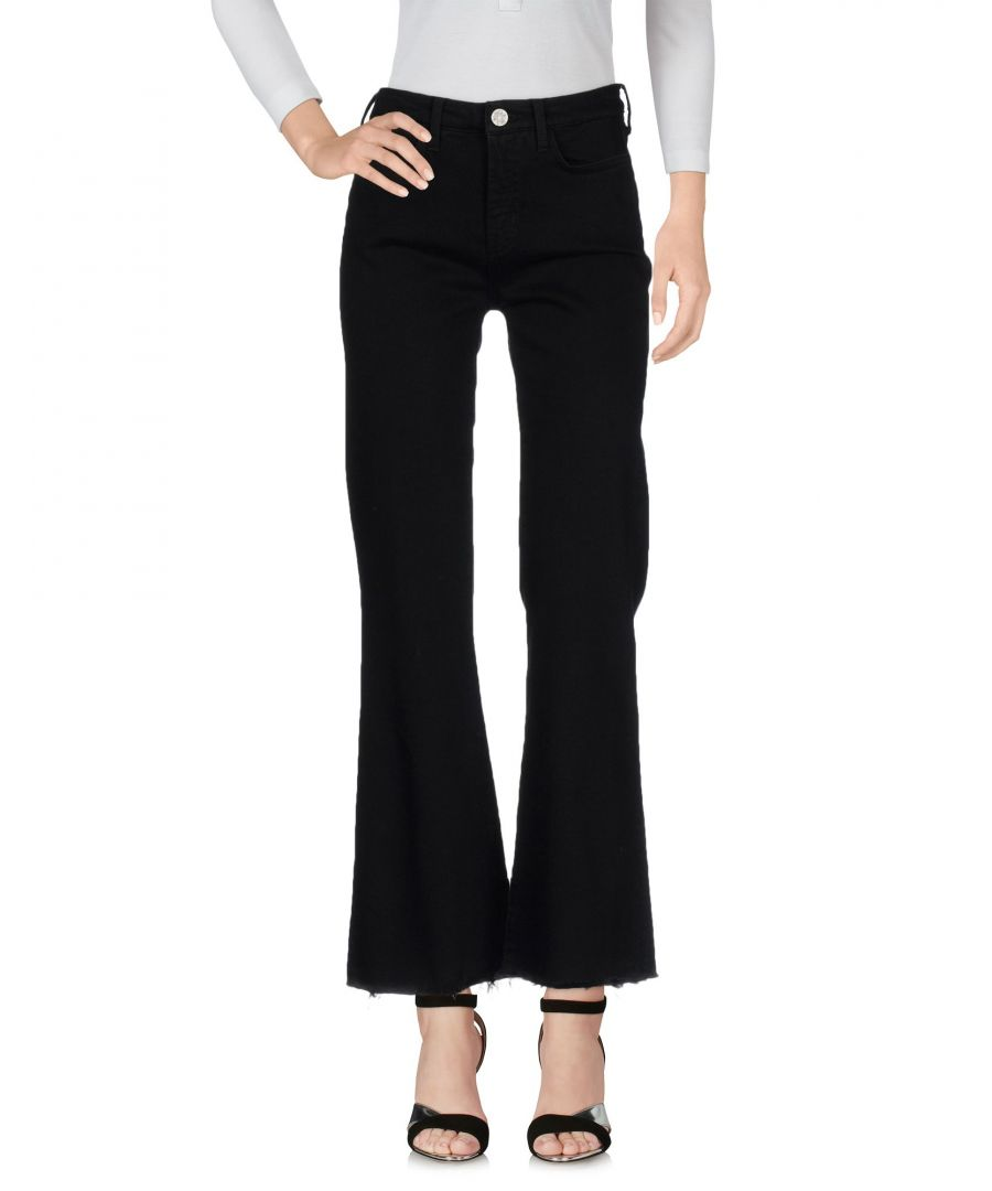 Image for M.I.H Jeans Black Cotton Bootcut Jeans