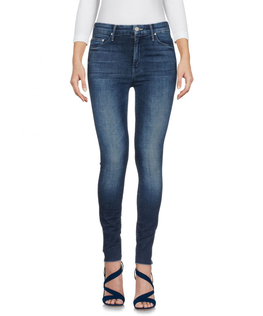 Image for DENIM Mother Blue Woman Cotton