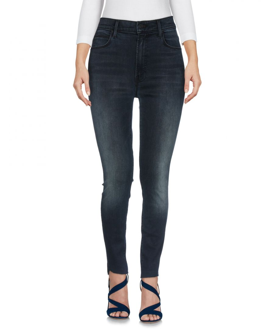 Image for Mother Blue Cotton Skinny Jeans