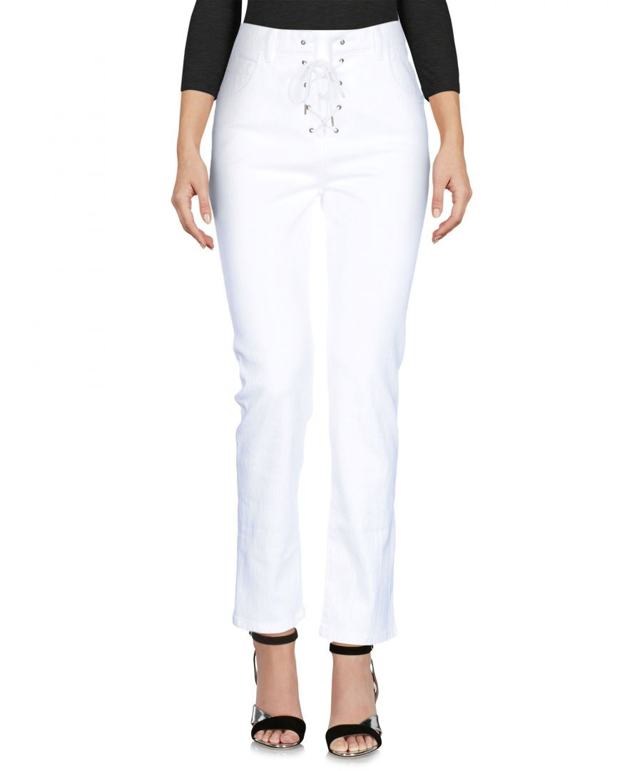 Image for Chloé White Cotton Bootcut Jeans