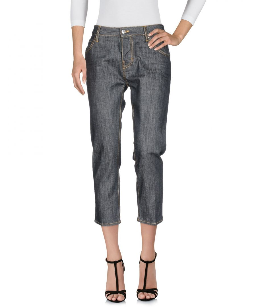 Image for Dsquared2 Black Cotton Cropped Jeans