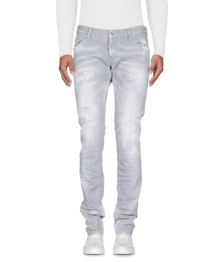 Image for Dsquared2 Light Grey Cotton Jeans