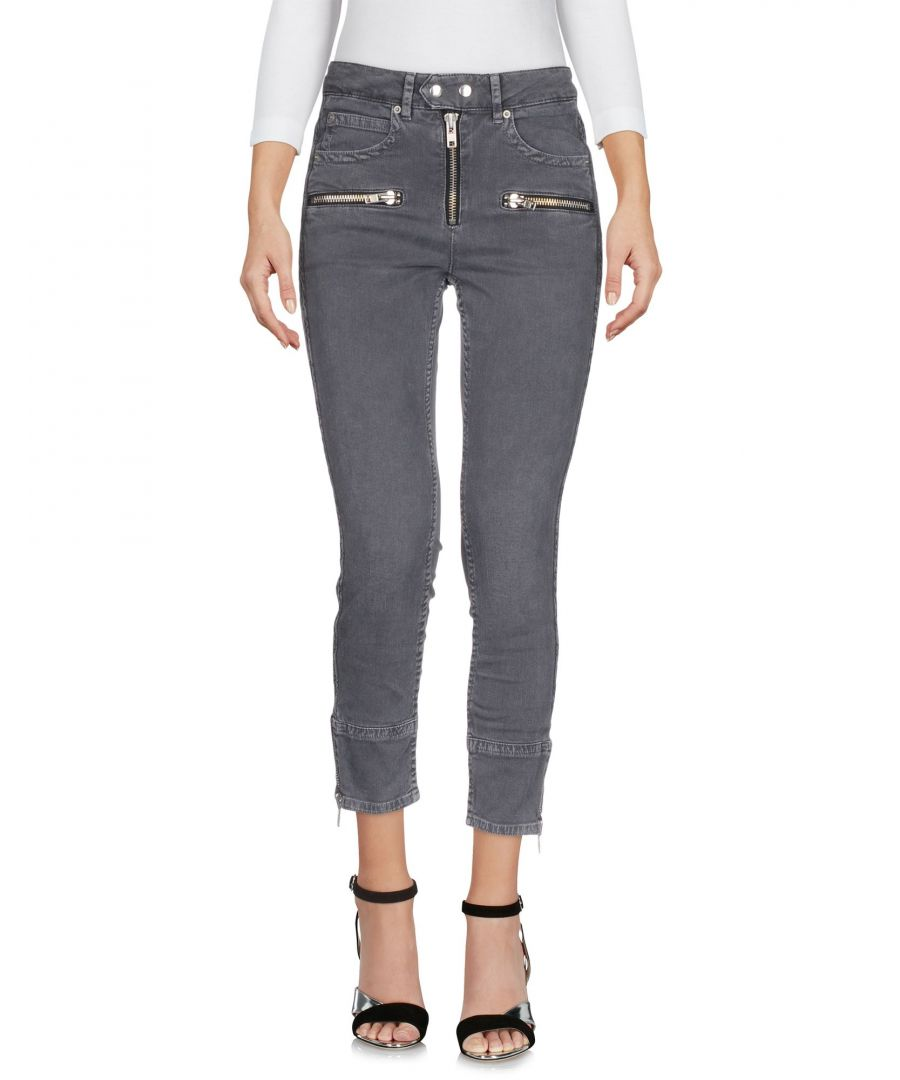 Image for Isabel Marant Etoile Lead Cotton Cropped Jeans