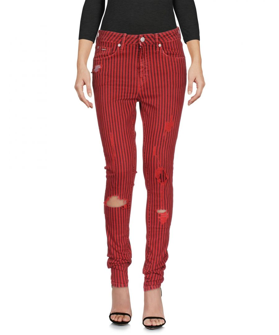 Image for DENIM Woman Pepe Jeans Red Cotton