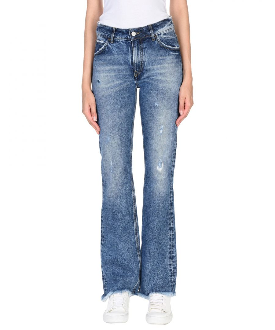 Image for Cycle Blue Cotton Medium Wash Jeans