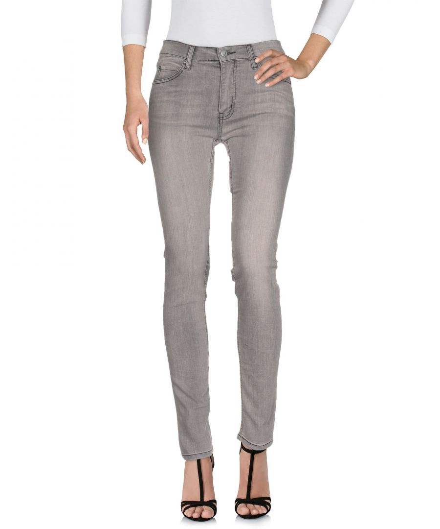 Image for Cheap Monday Grey Cotton Jeans