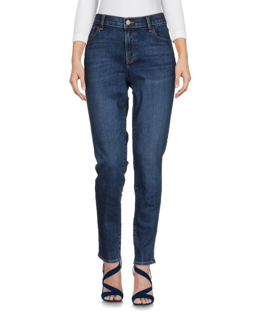 Image for DENIM Woman J Brand Blue Cotton