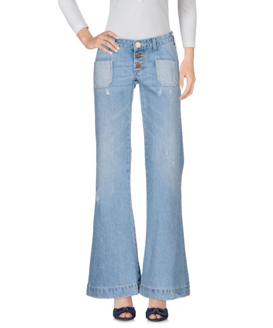 Image for DENIM Woman One X Oneteaspoon Blue Cotton